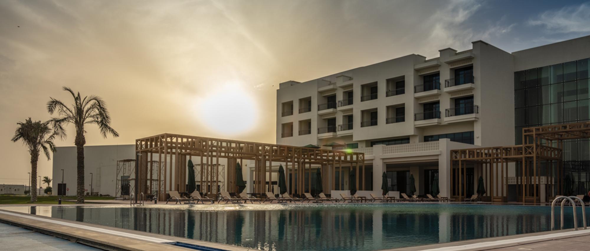 General view hotel Vichy Celestins Salwa